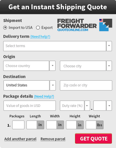 Air freight Auckland Los Angeles rates, costs, quotes calculator