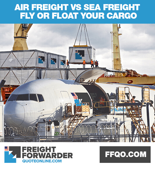 Air freight vs sea freight: What's the choice?
