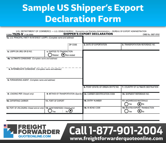 Understanding US Electronic Export Information Requirements
