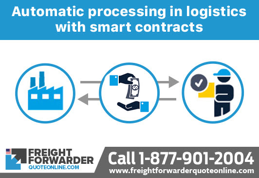 Freight forwarder blockchain technology may bring automatic processing in logistics with smart contracts