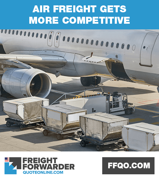 Why air freight forwarding is getting more competitive