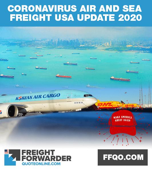 Coronavirus From America: Coronavirus Air And Sea Freight USA Update 2020
