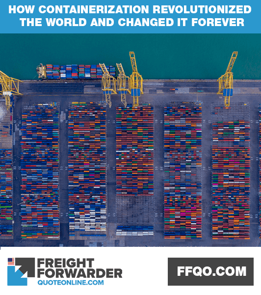 How shipping containerization revolutionized the world